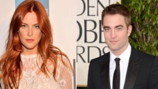 Nieta de Elvis Presley negó romance con el actor Robert Pattinson