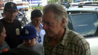 Harrison Ford cerraría su visita a Perú junto a la comunidad Bora