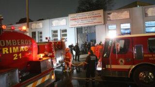 Continúan investigaciones por extraño incendio en Hospital Dos de Mayo