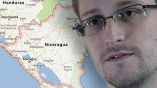 Embajada de Nicaragua habría aceptado solicitud de asilo a Edward Snowden