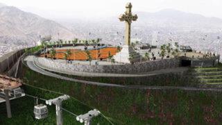 Teleférico del Cerro San Cristóbal transportará más de 6 mil personas diariamente