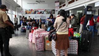 Desvalijan a 39 pasajeros de bus interprovincial en vía Huancayo-Ayacucho