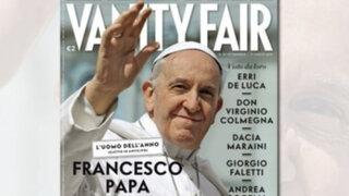 El Papa Francisco es elegido 'hombre del año' por la revista Vanity Fair
