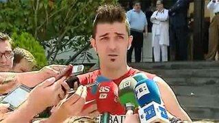 David Villa: Vengo al Atlético de Madrid a conseguir muchos títulos