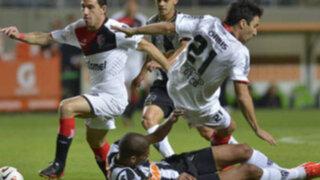 Newell's de Cruzado se despide de la Libertadores tras derrota frente a Mineiro