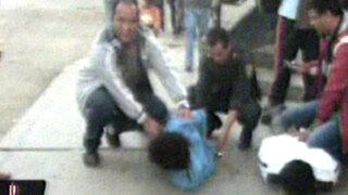 Policía captura a extorsionadores que pretendían cobrar cupo de 50 mil soles