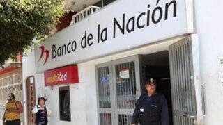 Trabajadores del Banco de la Nación anuncian que no pagarán a fonavistas