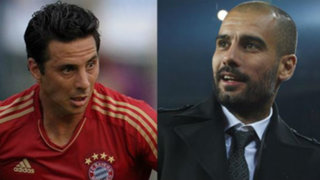 """Pizarro y Guardiola juegan """"camotito"""" durante entrenamientos del Bayern"""