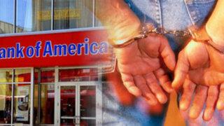 EEUU: Niño de 12 años es detenido por robar una sucursal de Bank of America