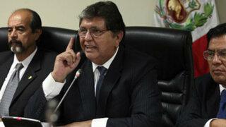 García: Mucho mejor si el Perú se entera de mis respuestas a la Megacomisión