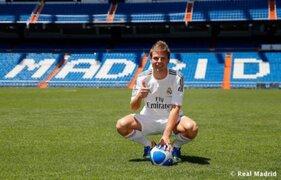 Real Madrid presentó oficialmente como nuevo jugador a Asier Illarramendi