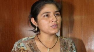 Cocalera Nancy Obregón fue trasladada a la Sala Penal Nacional