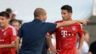 Pizarro y Pep Guardiola protagonizaron fuerte intercambio de palabras