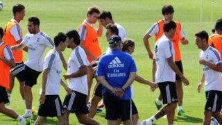 Real Madrid inició pretemporada al mando del técnico Carlo Ancelotti