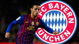 Bayern Múnich fichó oficialmente por 25 millones de euros aThiago Alcántara