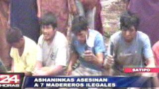 Exclusivo: Asháninkas asesinan a madereros en Satipo