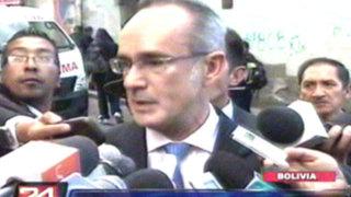 Embajador de España en La Paz pide disculpas por lo sucedido con Evo Morales