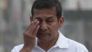 Aprobación de Ollanta Humala cayó 14 puntos porcentuales en dos meses
