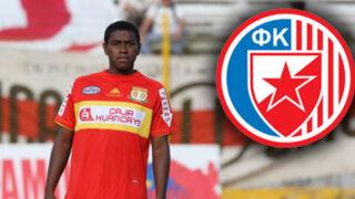 Peruano Miguel Araujo de 18 años jugará en el Estrella Roja de Belgrado