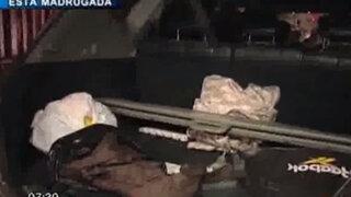 Magdalena: Intervienen camioneta cargada con armamento de guerra