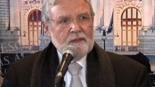 Ernesto Blume puso a disposición del Congreso su elección como miembro del TC