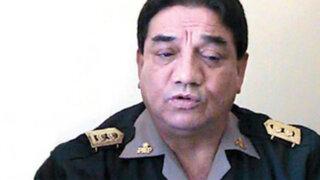 Inspector Gral. de la PNP fue destituido por vínculos en actos de corrupción