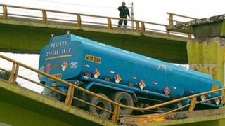 Remodelación de puente San Pedro caído en Lurín demorará tres meses