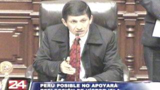 Perú Posible no respaldará reelección de Víctor Isla a la presidencia del Congreso
