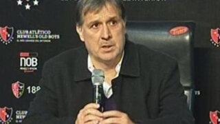 Tata Martino: Messi habló con directiva del Barcelona para contratarme