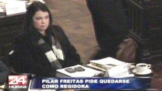 Freitas declinó al cargo de Defensora del Pueblo pero continuará como regidora