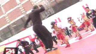 Internos de penal San Jorge bailaron para celebrar 'Día de la resocialización'