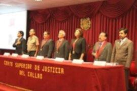 Corte Superior del Callao transmitirá audiencias a través de Internet