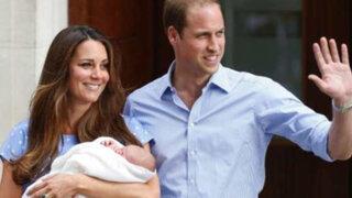 Reino Unido: bebé Real adoptará el título de príncipe George de Cambridge