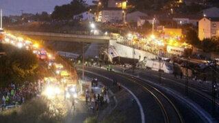 Jornada de muerte en España: al menos 77 fallecidos tras accidente ferroviario