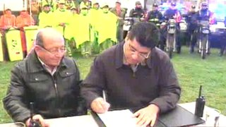 Alcaldes de Surco y SJM suscriben acuerdo para la lucha contra la delincuencia