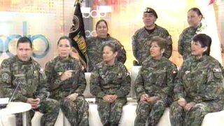 Mujeres reservistas afirman que servicio militar les permitió alcanzar el éxito