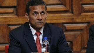 GFK: 39% de peruanos creen que gobierno de Humala está peor que primer año