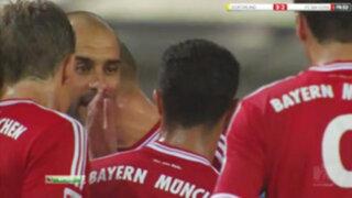 Guardiola perdió los papeles y propinó una cachetada a Thiago