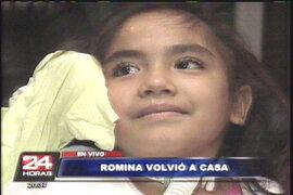 Romina Cornejo regresó al Perú tras su tratamiento en Puerto Rico