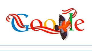 Google saluda al Perú por el 192 aniversario de  su Independencia Nacional
