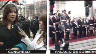Congresistas analizan mensaje a la Nación del presidente Ollanta Humala