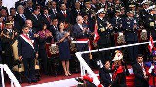Alejandro Toledo o Alan García acompañarían a Humala durante desfile militar