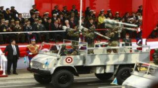Ollanta Humala preside Desfile y Gran Parada Militar en la Avenida Brasil
