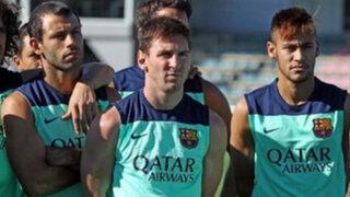 """Lionel Messi: """"Tata"""" Martino ha caído muy bien en el Barcelona"""