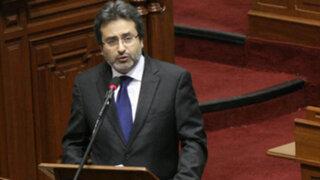 Premier Jiménez: Con gusto se explicará al Congreso cita Humala-Hollande
