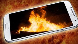 """""""Smartphone"""" de Samsung explosionó ocasionando incendio de vivienda en China"""