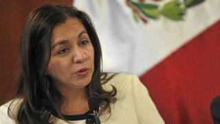 Espinoza: Implementaremos ley para que corruptos no trabajen en el Estado