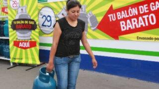Registran nuevo aumento en precio de referencia del balón de gas