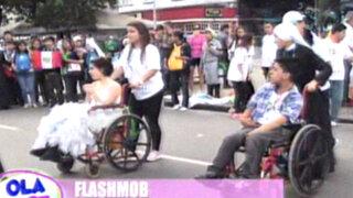 Niños peruanos de 'Yo Puedo' sorprendieron a brasileños con flashmob en JMJ