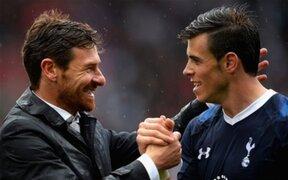 Bale: Estoy muy molesto con las declaraciones de Villas-Boas en Mónaco